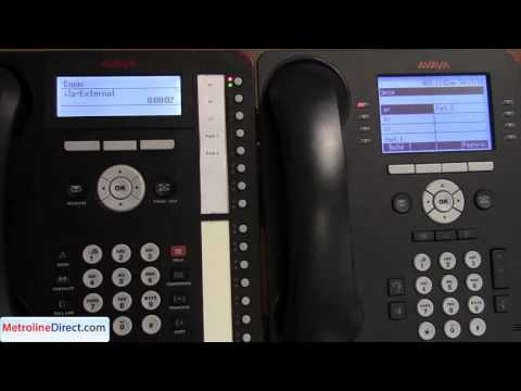 Avaya IP Office - How to Use Call Park on IP Office Standard Mode
