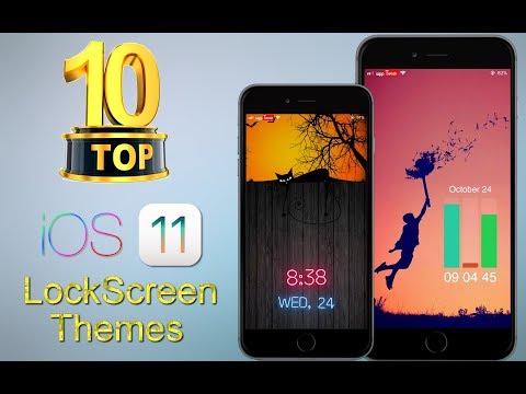 TOP 10 Cydia LockScreen Widgets for iOS 11-11.4 ( Octobre )