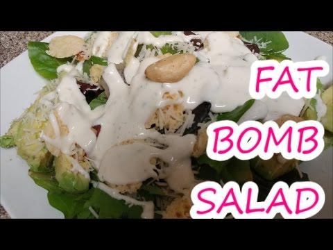 FULL DAY OF EATING KETO   KETOGENIC DIET   FAT BOMB SALAD