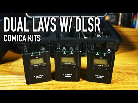 Epic Dual Lav Kits! | Comica CVM-WM200(A) &  CVM-WM300(A)