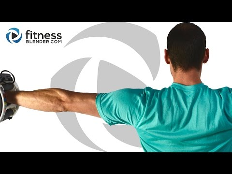 Upper Body Workout for Great Shoulders - Arms, Back, Chest & Shoulder Workout