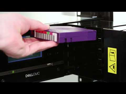 Dell Storage ML3: Magazine Eject