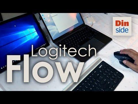 Logitech Flow demo - MacOS & Windows 10