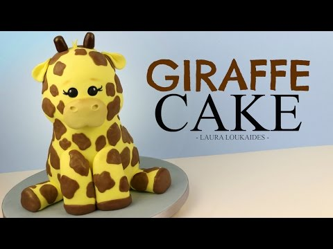How to Make a 3D Giraffe Cake - Laura Loukaides