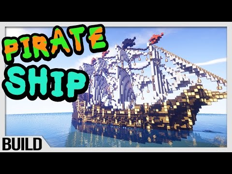 Let's Build - Minecraft Pirate Ship!
