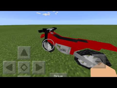 How to get Dirt Bikes in Minecraft PE