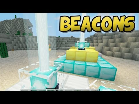 Minecraft PlayStation - How to Make a Beacon (PS3, PS4 & PS Vita Gameplay)