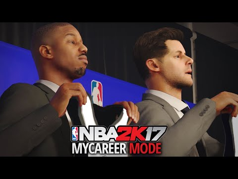 NBA 2K17 My Career - Ep. 1 - NBA DRAFT & FIRST NBA GAME!!