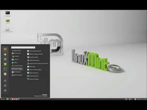 How to Install a Network Printer in Linuxmint 13 Maya