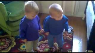 Twins Sing And Dance To Gotye