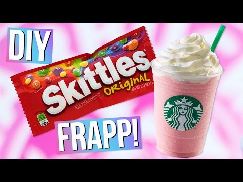 DIY Starbucks SKITTLES Frappuccino