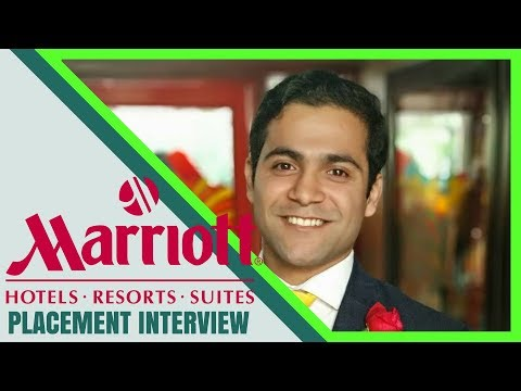 Hotel Management Jobs | Marriott Interview Experience | Question and Answers