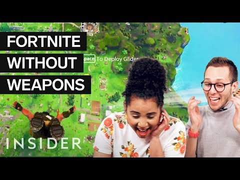 We Tried The 'Winning Fortnite With No Weapons' Challenge