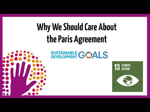 Why Care About The Paris Agreement?