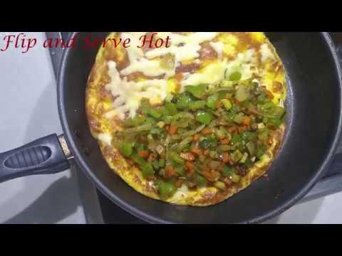 Loaded Veggie Omelette | Healthy Breakfast Recipe