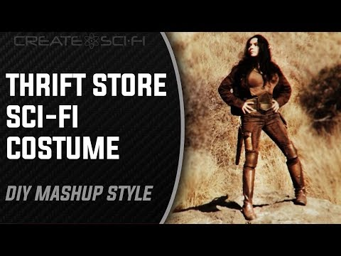 How To Make Sci-Fi Costumes On A Budget: DIY Thrift Store / Craft Foam Mash-Up