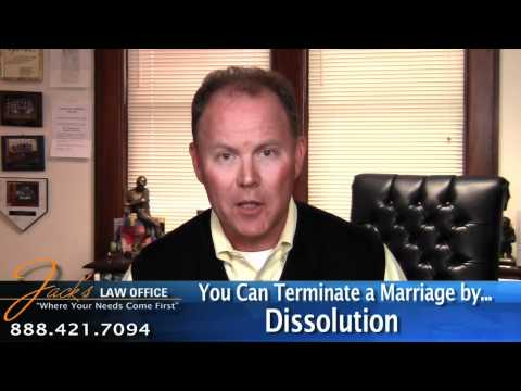 The 3 Ways to Terminate a Marriage-Ohio Divorce Attorney Jack Carney-Debord Explains