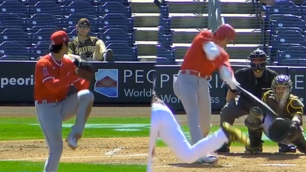 Shohei Ohtani reaches base safely 3 times & strikes out 5 in 4 innings, a breakdown