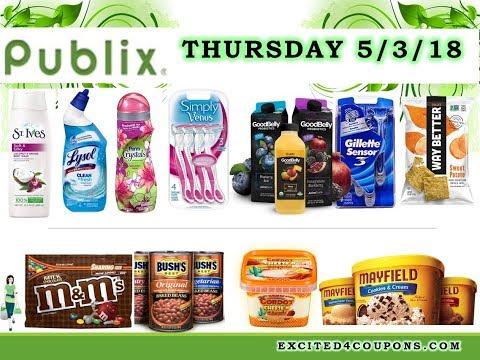 Publix 5/3/18 - 5/9/18 best deals