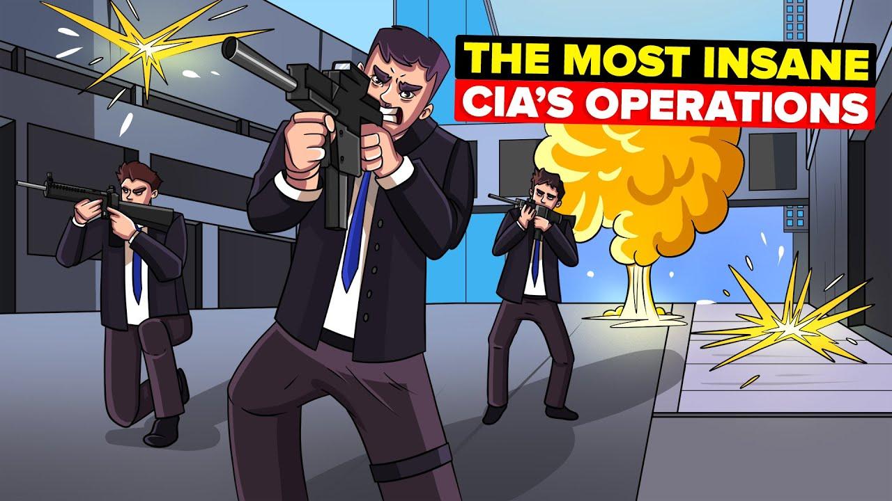 10 Craziest CIA Covert Operations