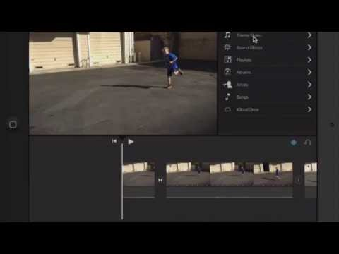 iMovie Tips for iPad: Adding Audio Effects