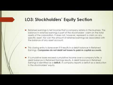 3- Chapter 14:  Retained Earning Statement and Income Statement