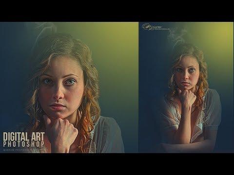 Make a Creative Art Photo Effects in Photoshop CC