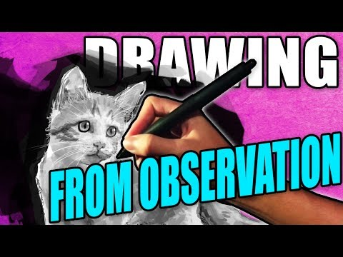 How to draw from observation