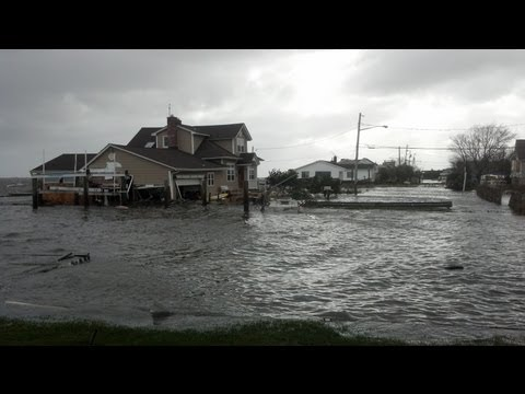 Hurricane Sandy Timelapse, Babylon NY (Long Island)