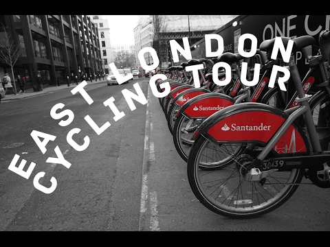 London Cycling Route: Spitalfields, Columbia Rd Market, Victoria Park, Crate Brewery Travel VLOG