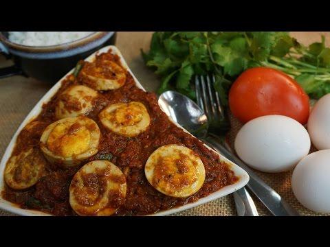 Egg kurma in Tamil / Muttai Kulambu  / முட்டை குழம்பு