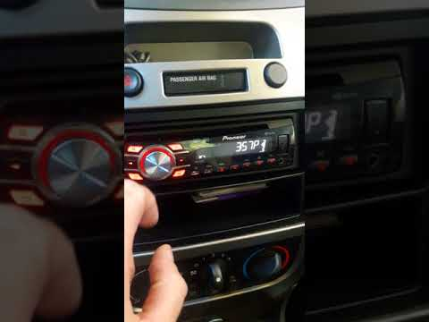 Changing time on Pioneer car stereo