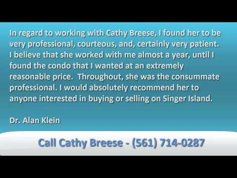 Cathy Breese Top Singer Island Real Estate Agent