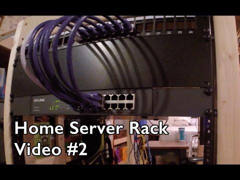 Home Server Rack - Network Setup #2