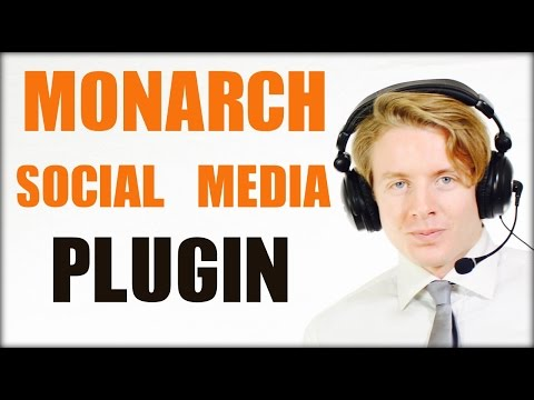 Best Wordpress social media plugin 2016 - Monarch social media plugin
