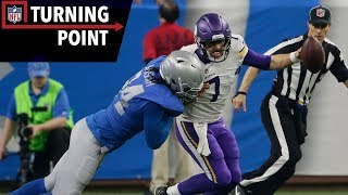 Keenum Provides a Case Study in Grit Against the Lions (Week 12)   NFL Turning Point