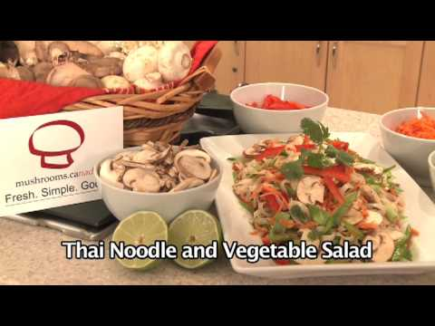 Thai Noodle and Vegetable Salad