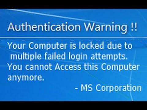 Add Fake Virus Prank on Windows Startup - Fake Virus Prank.
