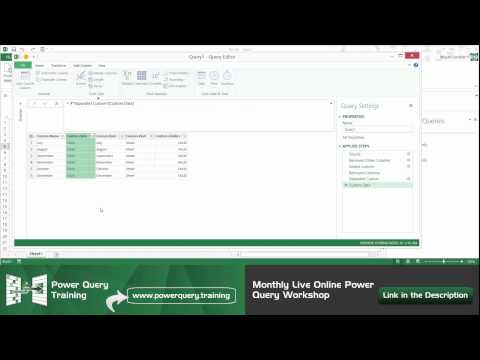 Combine, Consolidate or Append Multiple Tables from any source with Power Query for Excel