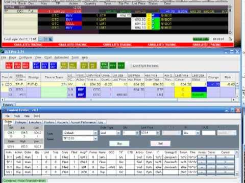 NinjaTrader to ZeroLine Trader to Interactive Brokers