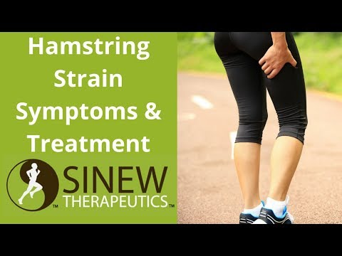 Hamstring Strain Symptoms and Treatment