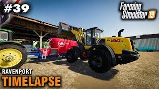 Download FS19 Timelapse Ravenport #39 Feeding The Animals Video