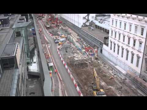 Crossrail time lapse: Paddington station construction progress