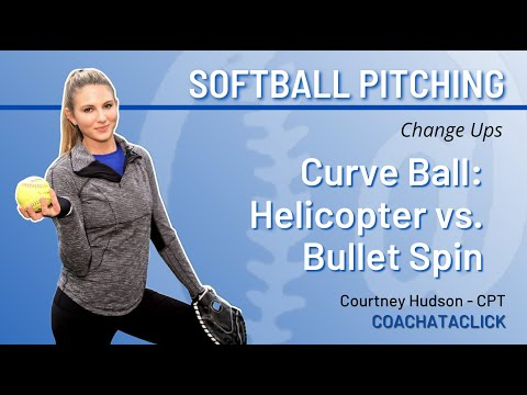 Curve Ball : Helicoptor vs Bullet Spin