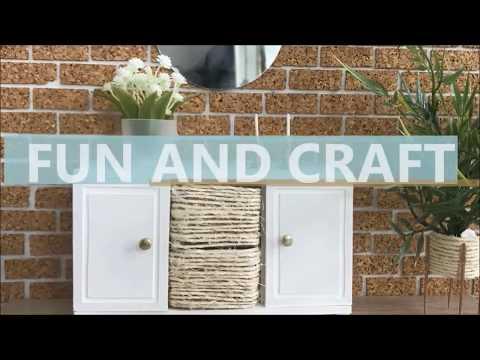 DIY miniature cabinet (dollhouse furniture)