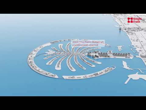 Dubai Evolution from 1960 to 2021 Time-lapse