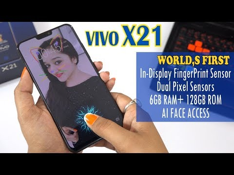 VIVO X21- INDIA (DHANSU TECHNOLOGY) Unboxing & Overview- In Hindi