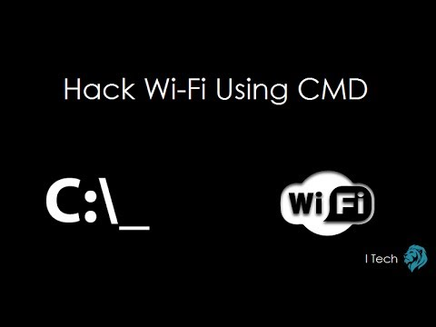 How To Hack WiFi Password Using Command Prompt- #YouTube