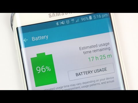 How to Increase Battery life on Galaxy S6 / Edge