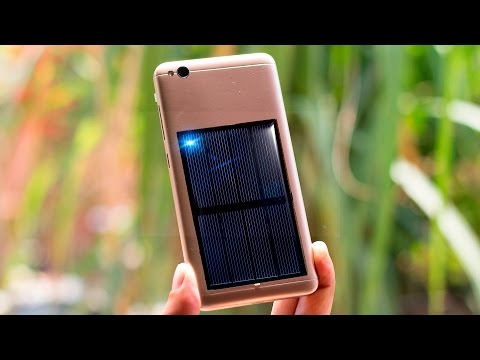 FREE ENERGY SOLAR Emergency Mobile Phone Charger -DIY